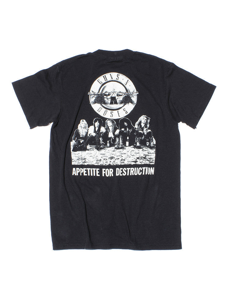 Guns N Roses Appetite for Destruction Vintage T-Shirt 1987///SOLD///