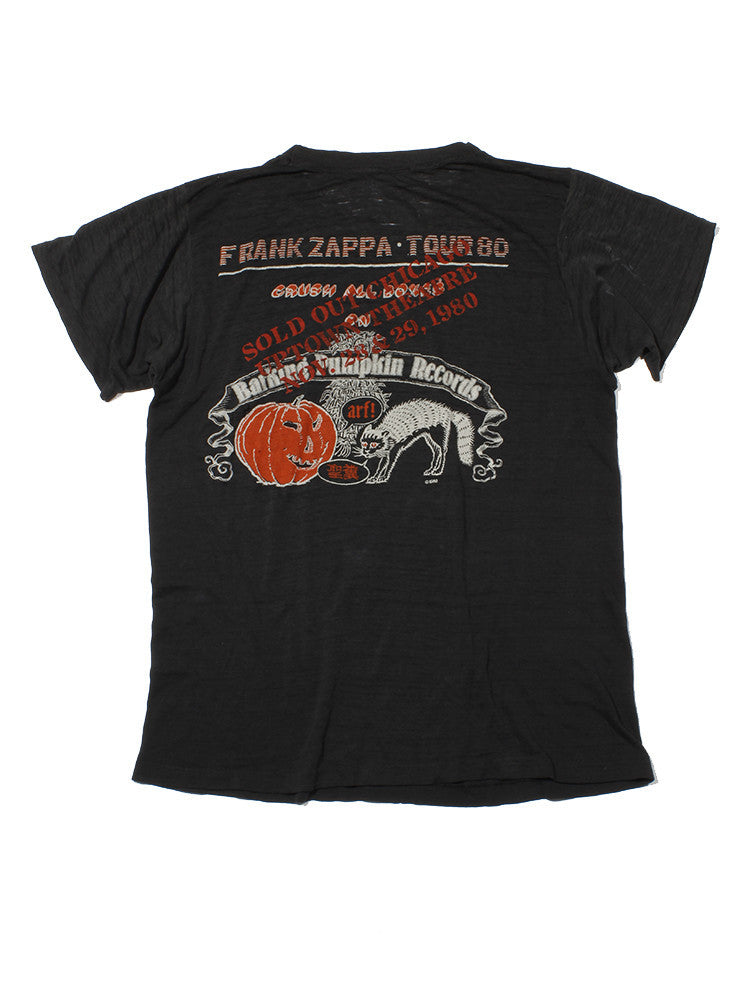Frank Zappa Vintage T-Shirt 1980 ///SOLD///