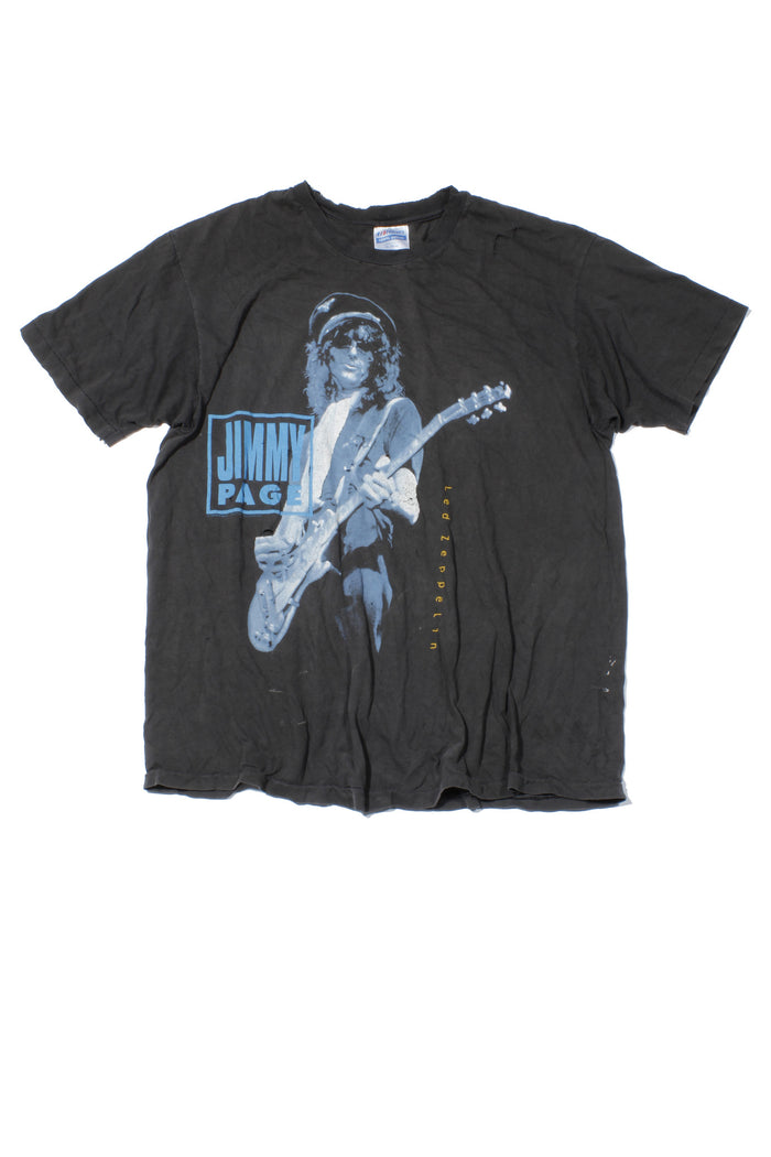 Jimmy Page Led Zeppelin Vintage T-Shirt 1980s