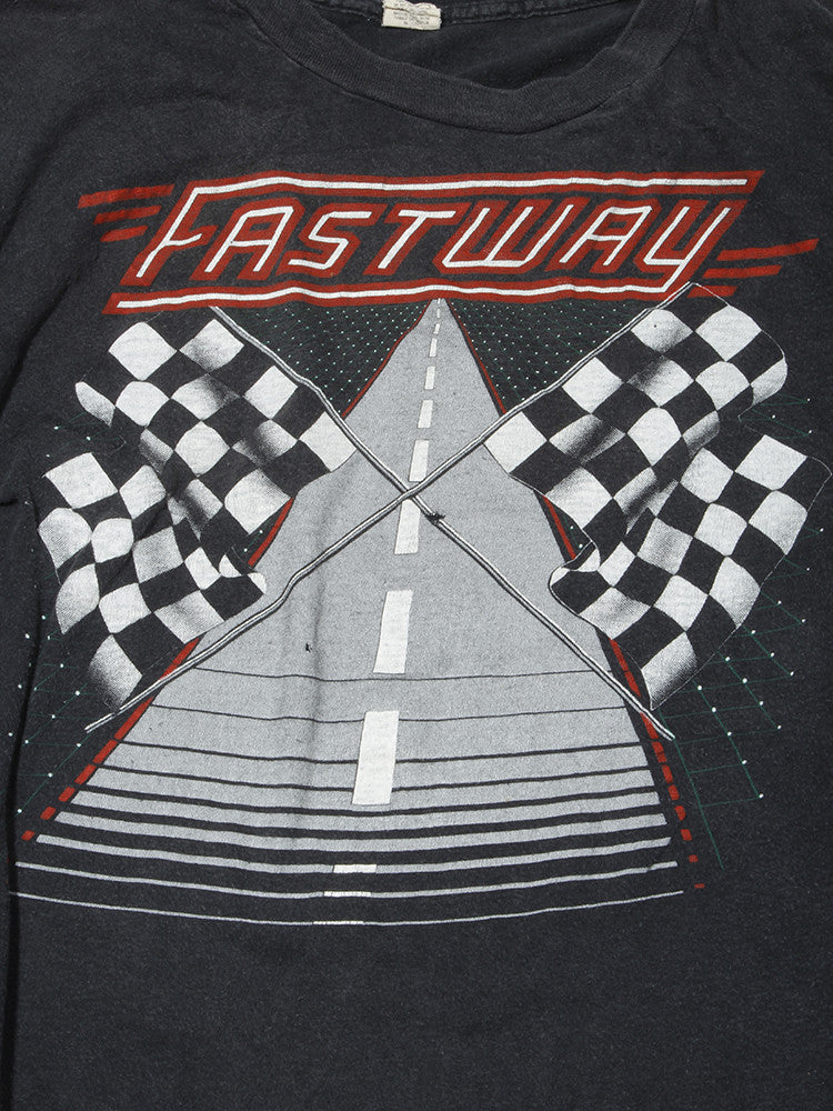 Fastway We Become One Tour Vintage T-Shirt 1983