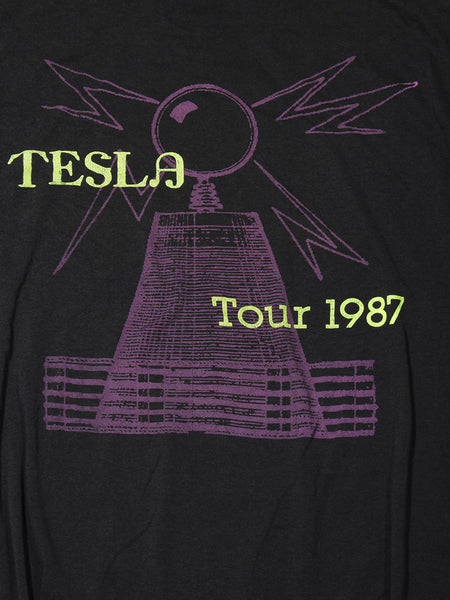 Tesla Mechanical Resonance Vintage T-Shirt 1987