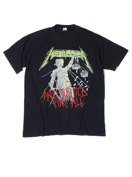Metallica Justice For All Tour Vintage T-Shirt 1989