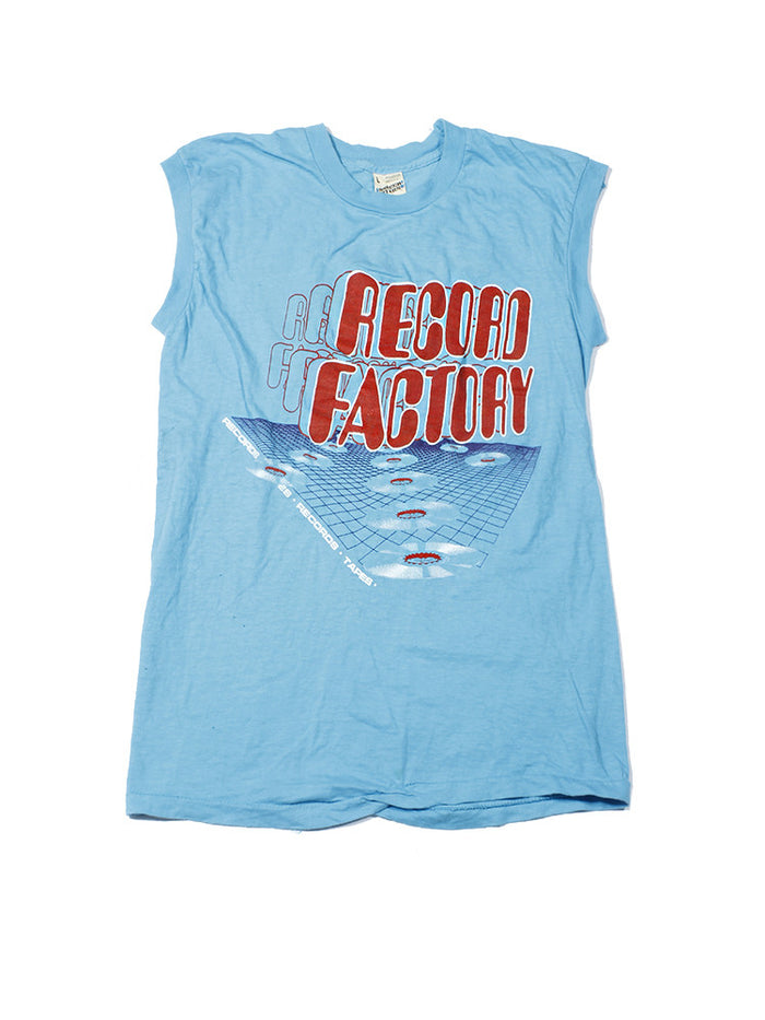 Record Factory Vintage Tank Top 1980's