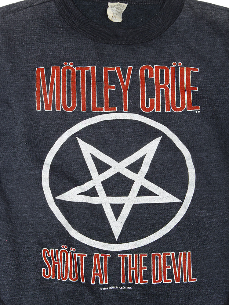 Motley Crue Shout at The Devil Vintage Sweatshirt 1983