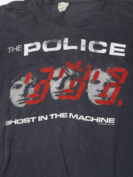 The Police Ghost in The Machine Vintage T-Shirt 1982