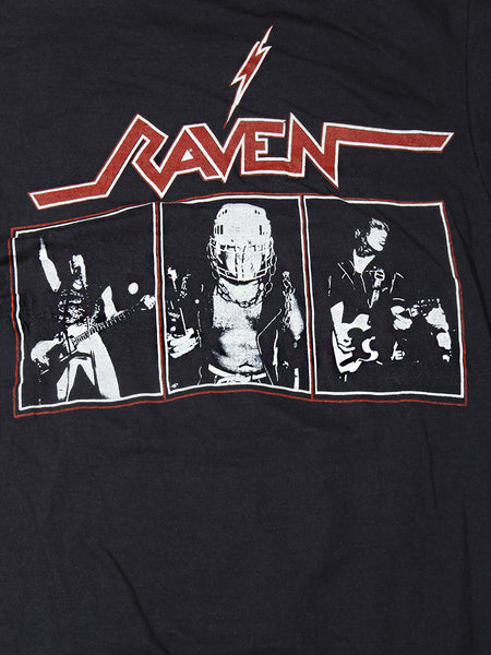 Raven Live at The Inferno Tour Vintage T-Shirt 1984