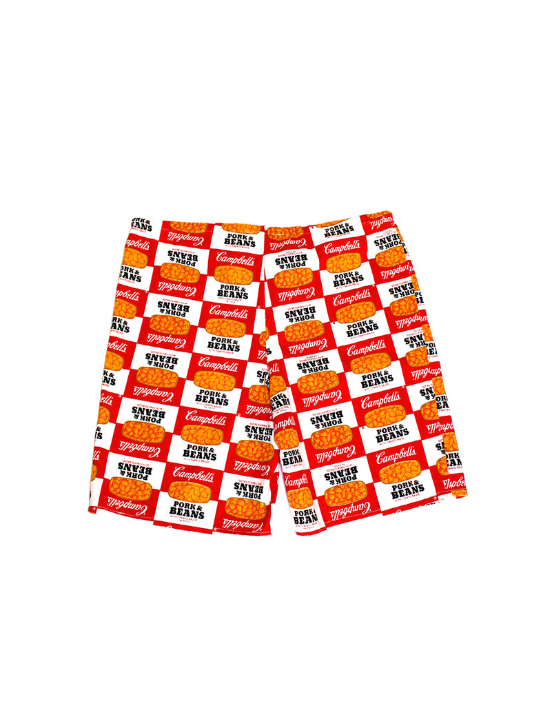 Vintage 60's Campbell's Pork & Beans Shorts