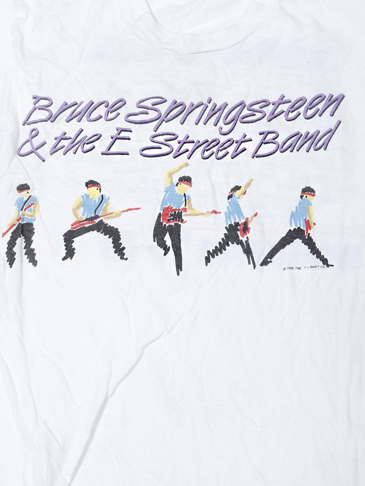 Bruce Springsteen & the E Street Band World Tour Vintage T-Shirt 1984 1985///SOLD///