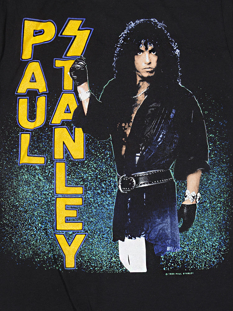 KISS Paul Stanley Vintage T-Shirt 1989