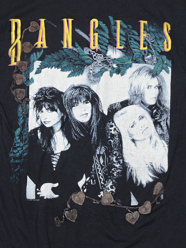 The Bangles Everything Tour Vintage T-Shirt 1989