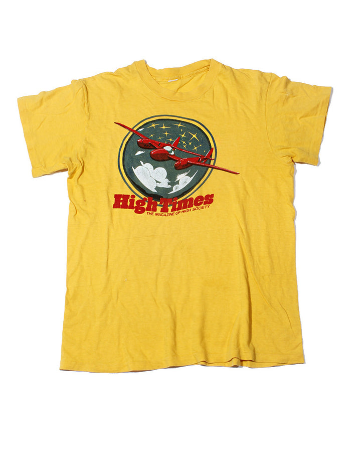 High Times Magazine Vintage T-Shirt 1970's