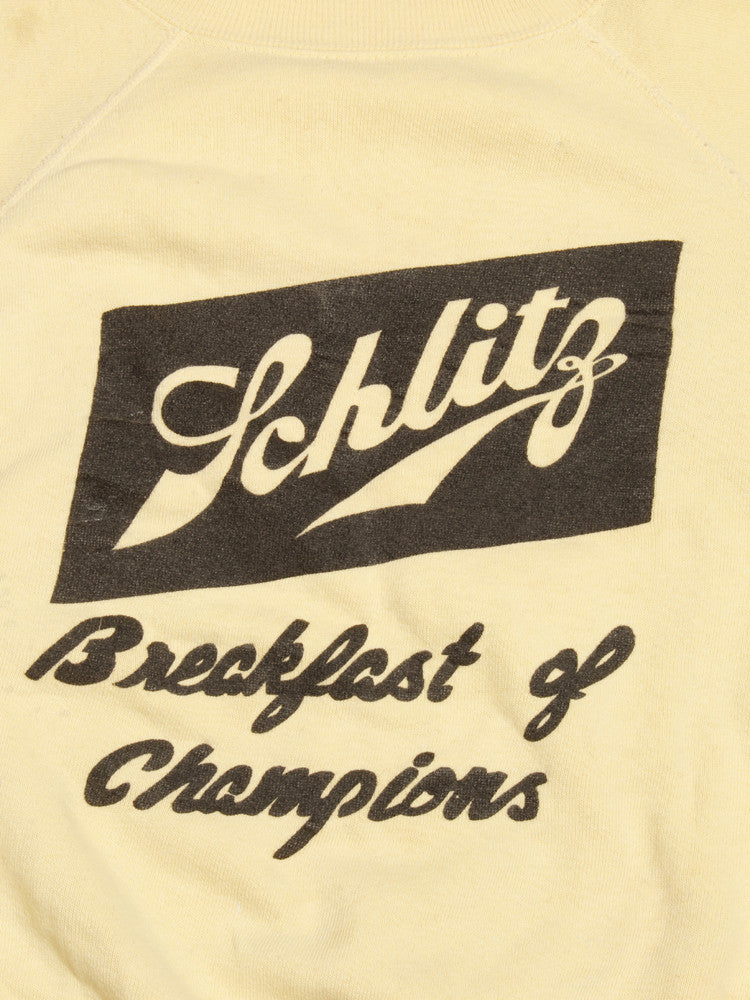 1950's Schlitz Breakfast of Champions Sweatshirt