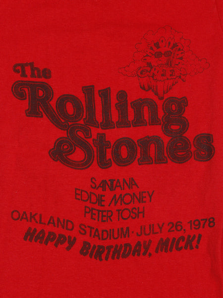 1978 Rolling Stones Vintage T-shirt-Happy Birthday Mick! ///SOLD///