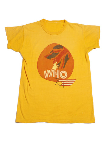 The Who 1976 Vintage T-shirt