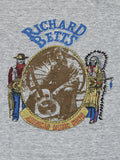 Vintage Richard Betts T-shirt Allman Brothers 1970's