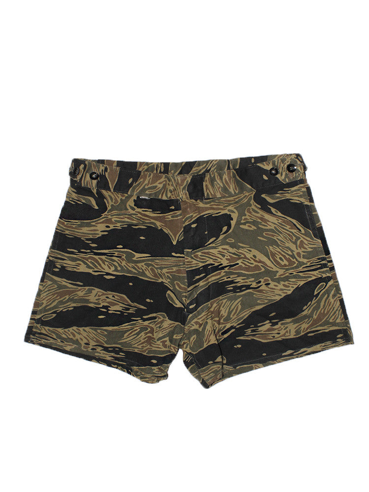 f59412f41acc1 Vintage Vietnam Original Tiger Stripe Camo Shorts – Afterlife Boutique
