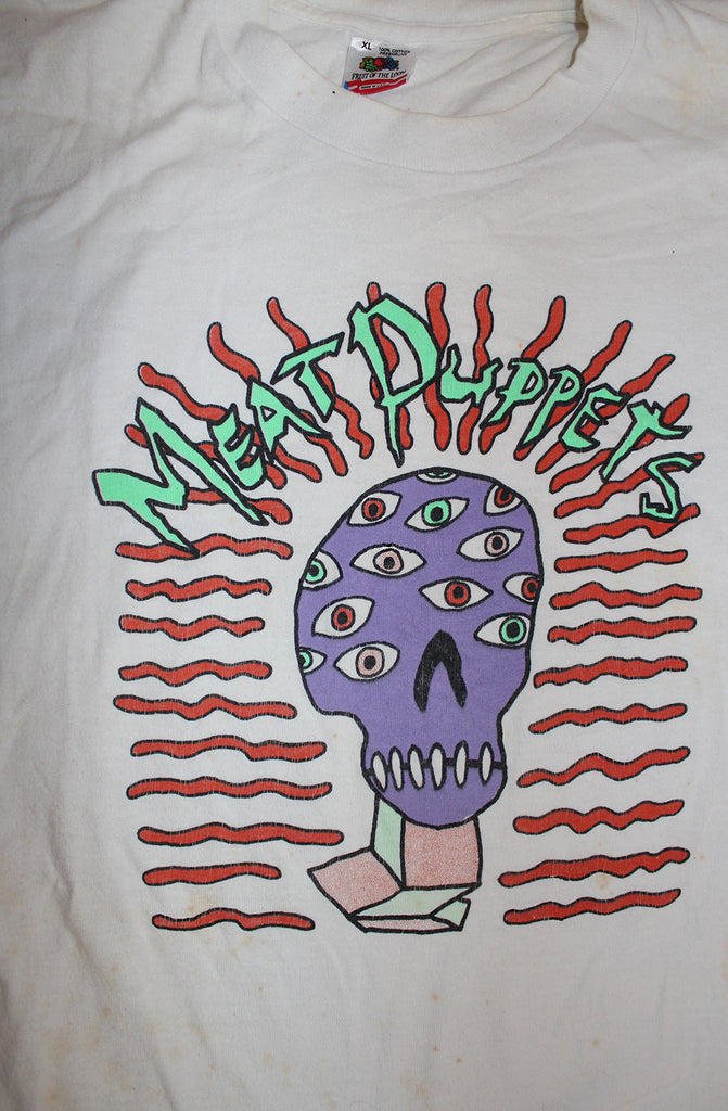Vintage 80's Meat Puppets Monsters T-Shirt