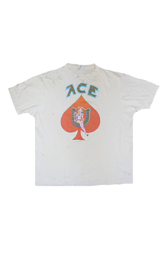 ace album vintage t shirt bob weir grateful dead t-shirt