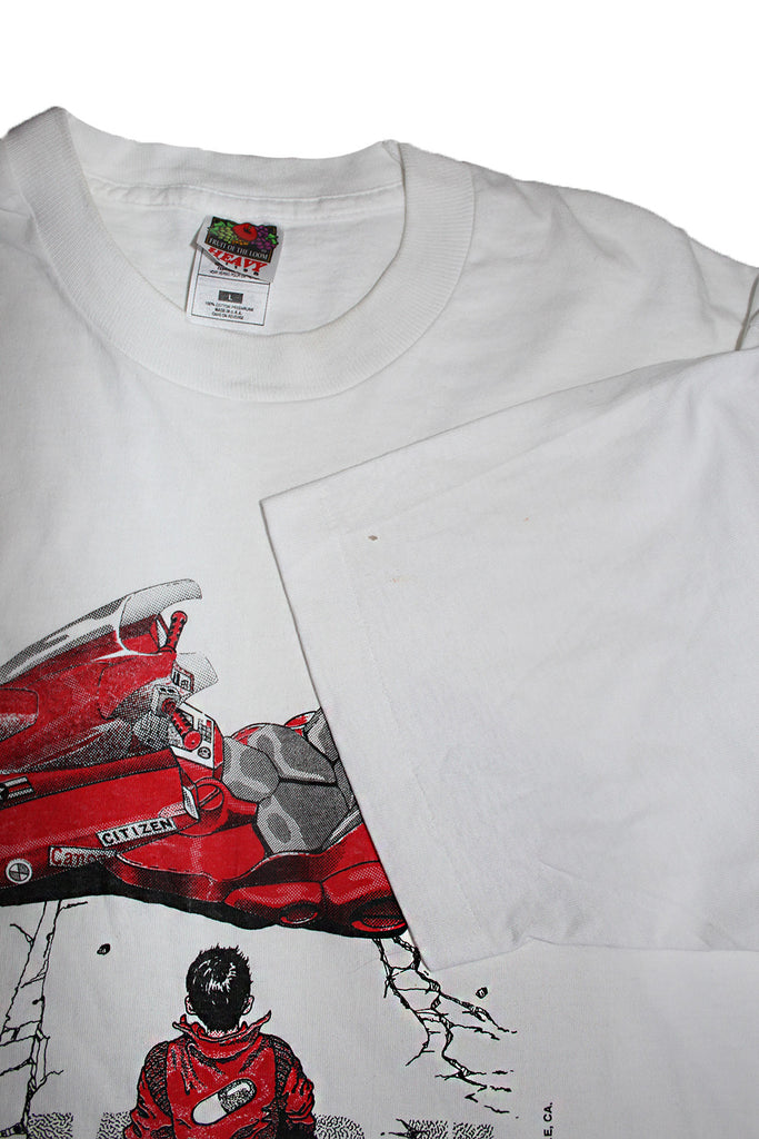 Vintage 80's Deadstock AKIRA Rare Big Bike T-Shirt ///SOLD///
