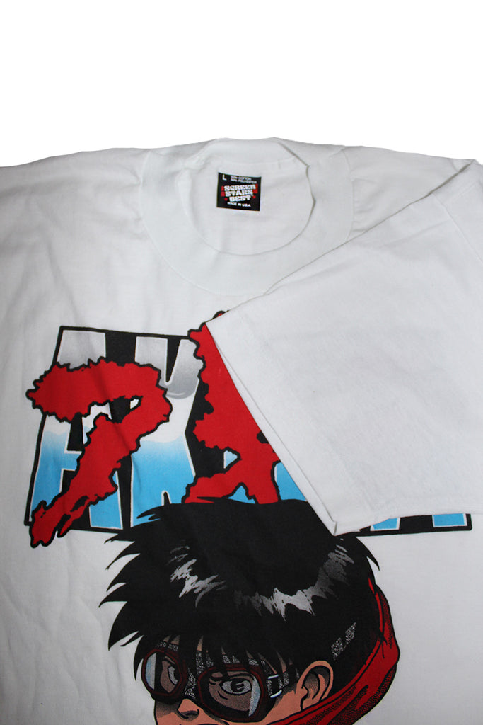 Vintage 90's Deadstock AKIRA Rare Huge Script Face T-Shirt ///SOLD///