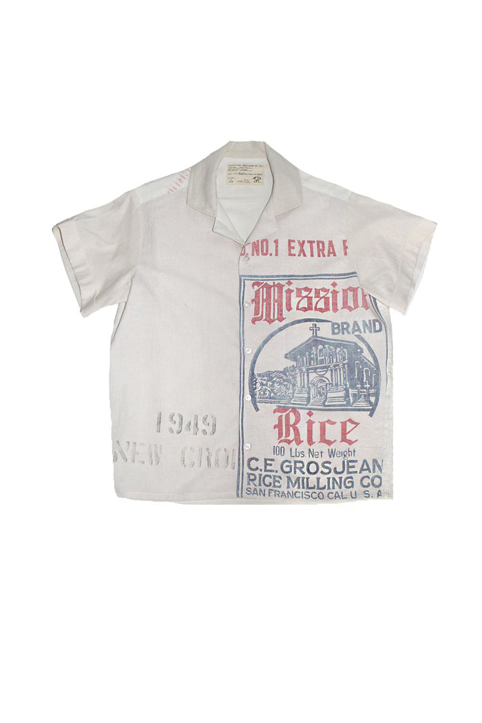 ALC-067 Late 1940's Mission SF Rice Sack Shirt