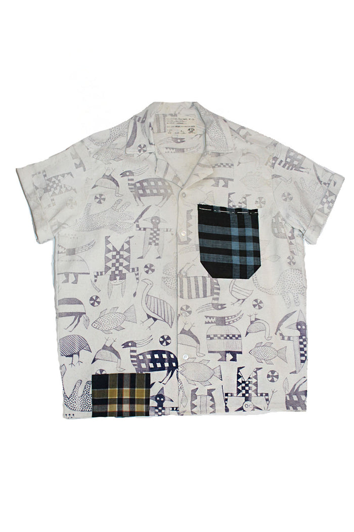 ALC-067 Vintage Mud Cloth Shirt
