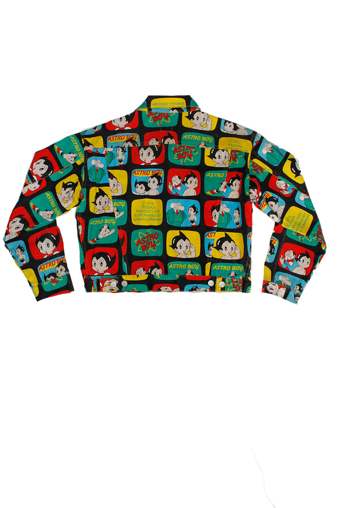Vintage 90's ASTRO BOY All Over Print Rare Shin & Co. Anime Jacket ///SOLD///