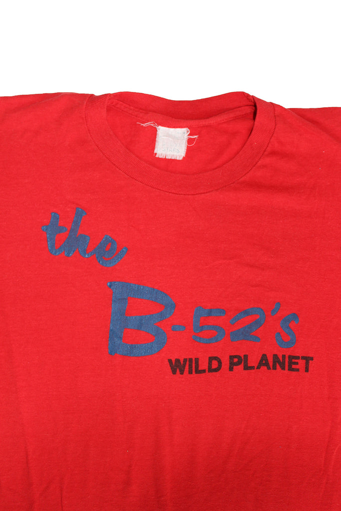 Vintage 80's B-52's Wild Planet T-shirt ///SOLD///
