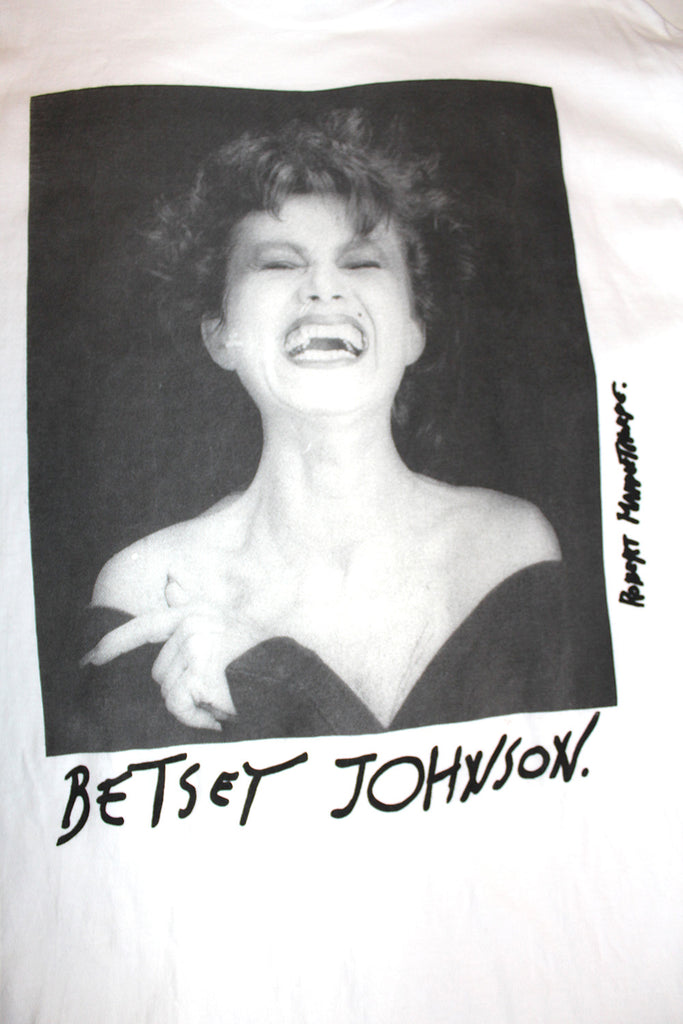 Vintage 90's Betsey Johnson Robert Mapplethorp T-Shirt ///SOLD///