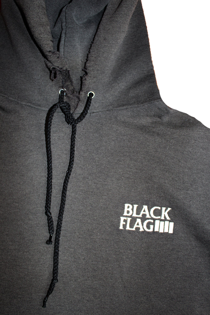 Vintage 80's Black Flag SST Records Hoodie