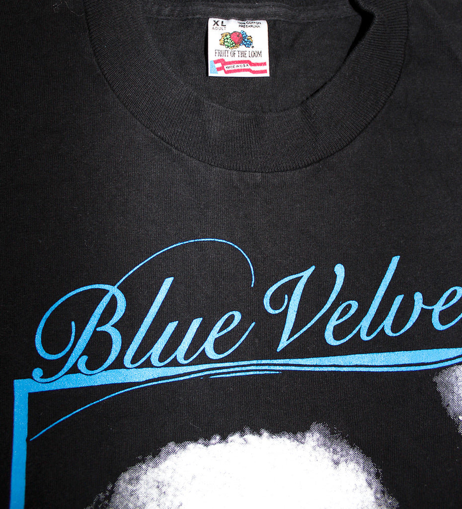 Vintage 80's Deadstock Blue Velvet Movie David Lynch T-Shirt