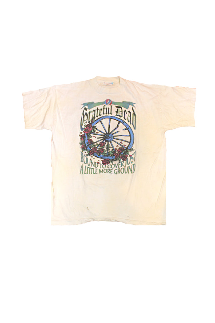 grateful dead bounfd to cover just a little more ground vintage t-shirt