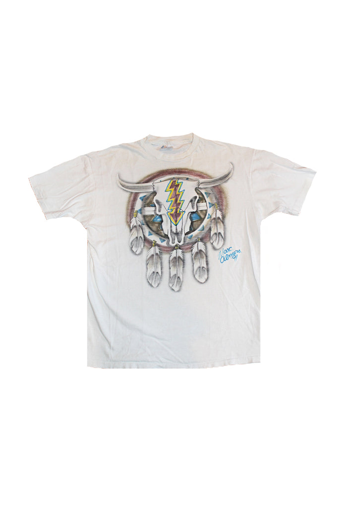 marc almera airbrush vintage grateful dead t shirt