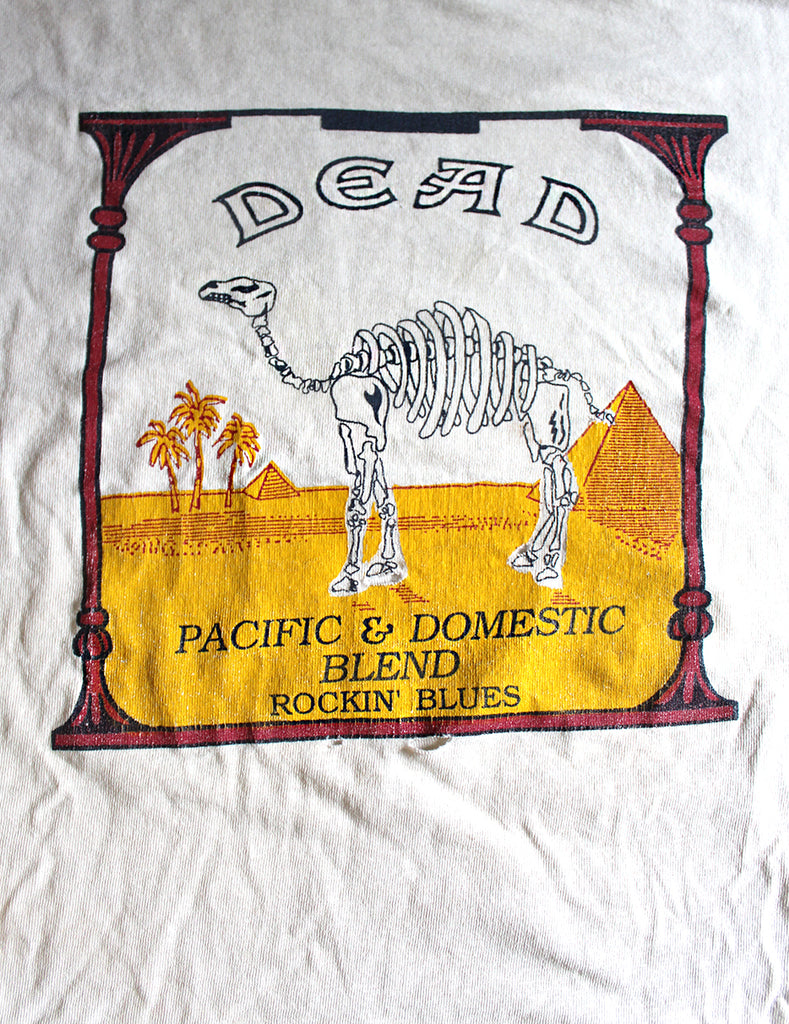 Vintage Grateful Dead Camel 25 Years and Still Smokin' T-Shirt