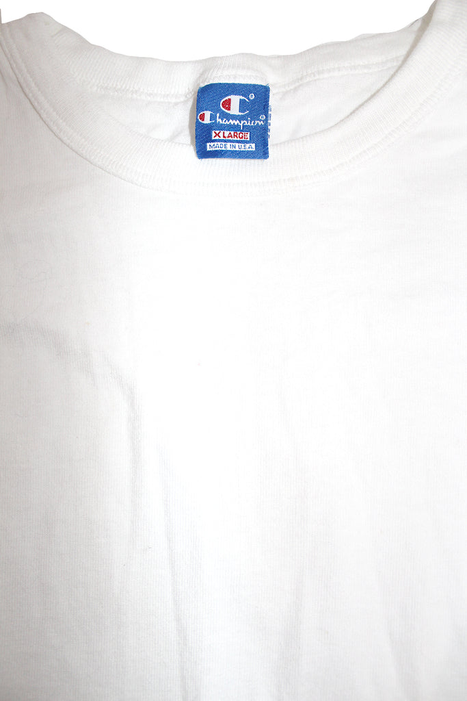Vintage 90's Deadstock Champion Spellout Long Sleeve White ///SOLD///