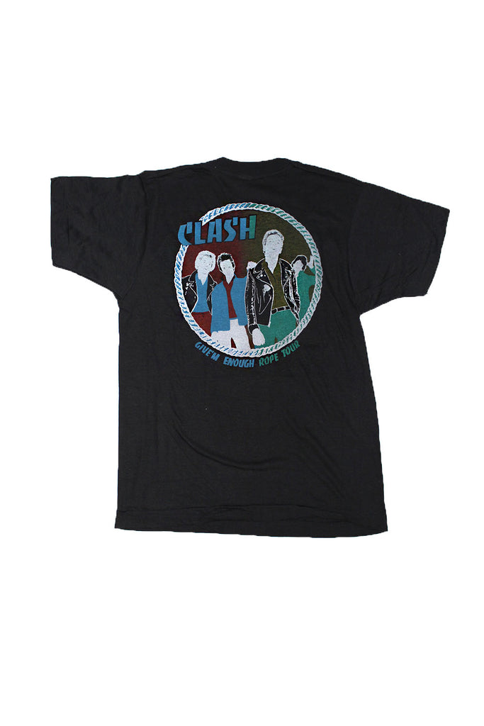 Vintage Deadstock 70's The Clash Give' em enough Rope Tour