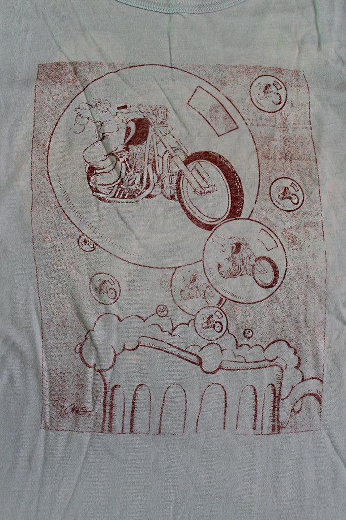 Vintage 70's Grateful Dead Fan Art Crumb T-Shirt