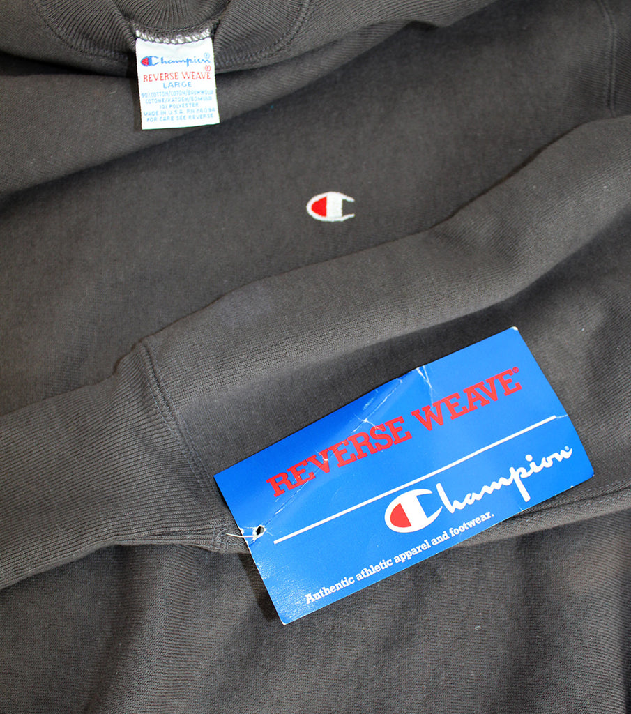Vintage 90's Deadstock Champion Reverse Weave Dark grey