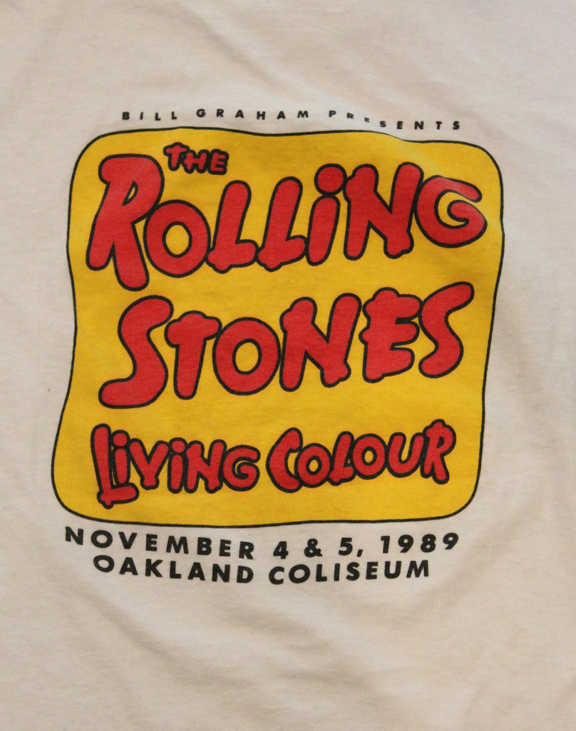 Vintage 80's Rolling Stones Day On The Green T-Shirt