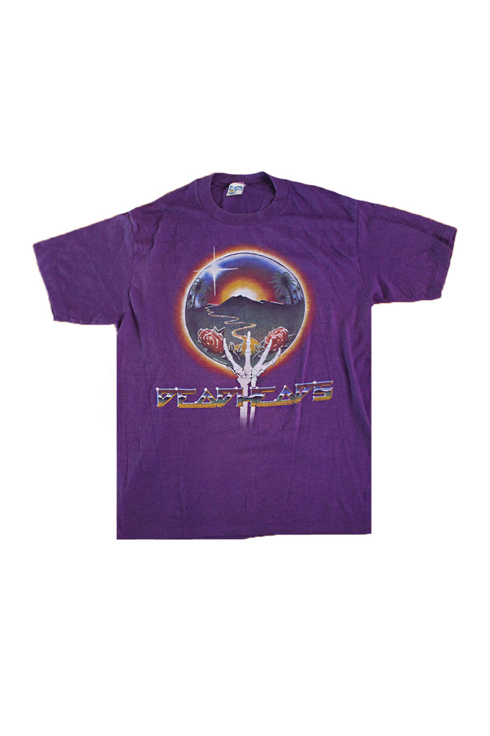 Vintage 80's Grateful Dead Deadheads Summer Tour T-Shirt