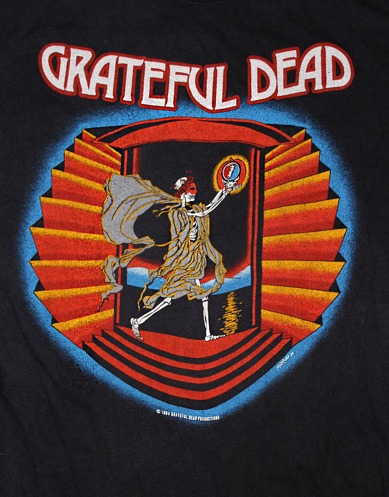 Vintage 80's Grateful Dead Days Of The Dead T-Shirt