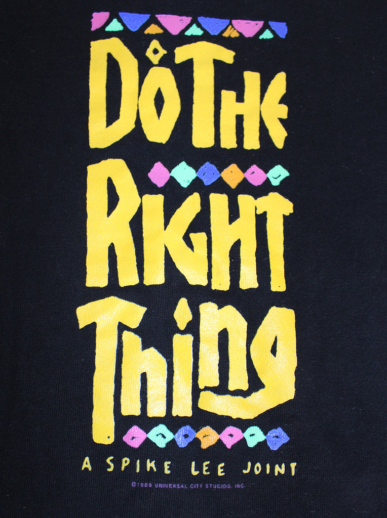 Vintage 80's Do The Right Thing Spike Lee Movie Promo Sweatshirt ///SOLD///