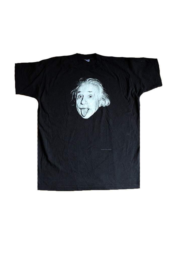 Vintage 90's Albert Einstein Photo T-Shirt