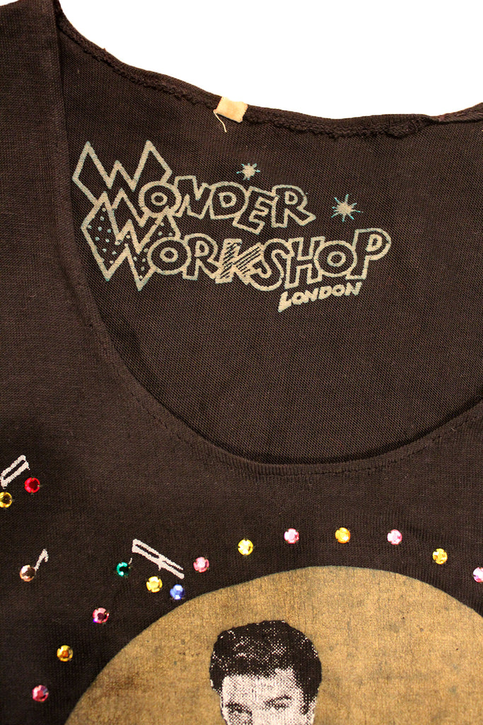 Vintage 70's Elvis Wonder Workshop London Shirt