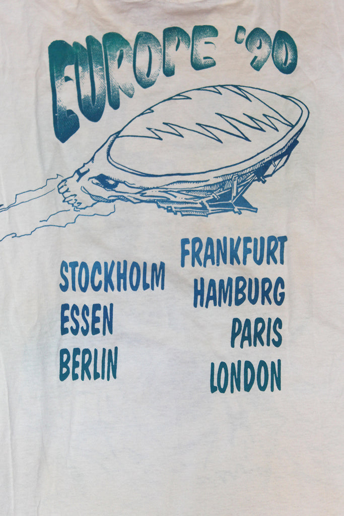 Vintage 90's Grateful Dead Europe Tour T-Shirt