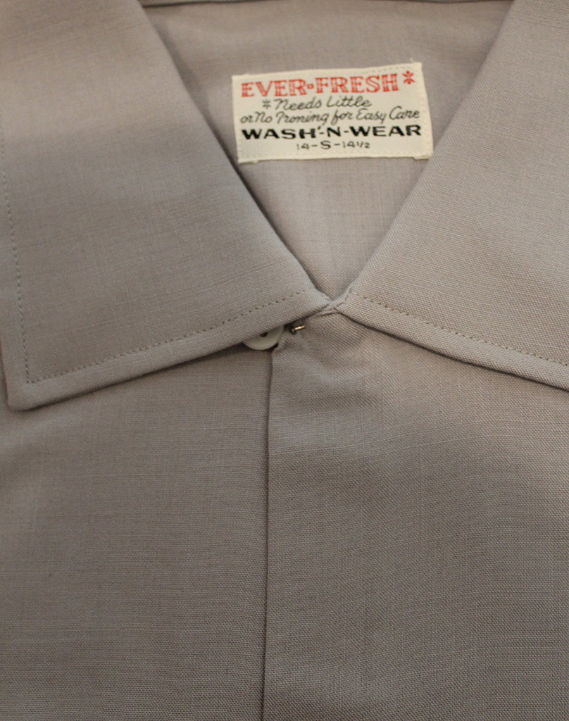 Vintage 50's NOS Ever-Fresh Loop Collar Shirt