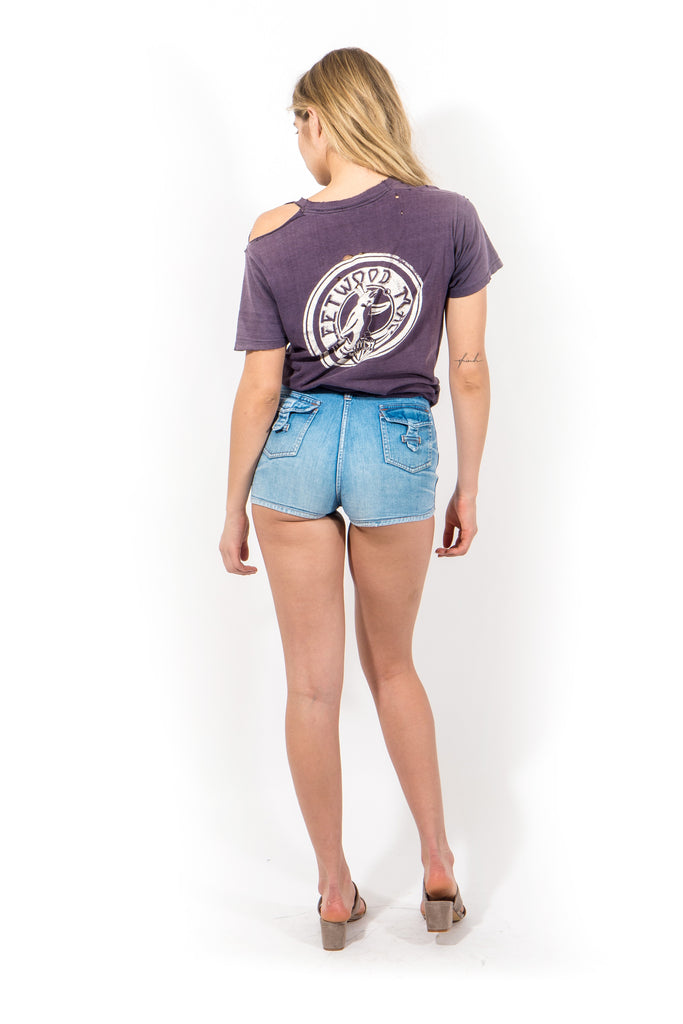 Vintage 70's Denim Short Shorts