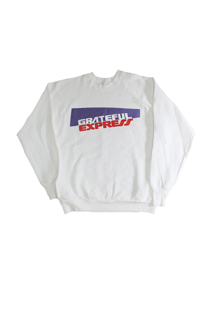 Vintage Deadstock 80's Grateful Express Sweatshirt