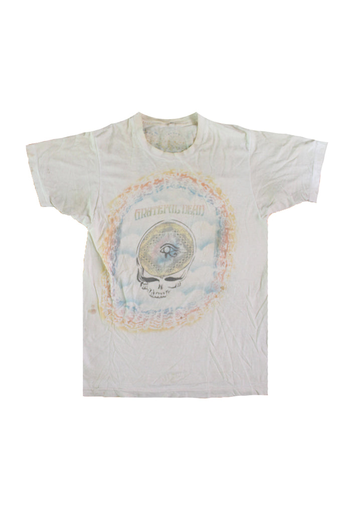 70's grateful dead fan art t-shirt folk art afterlife boutique