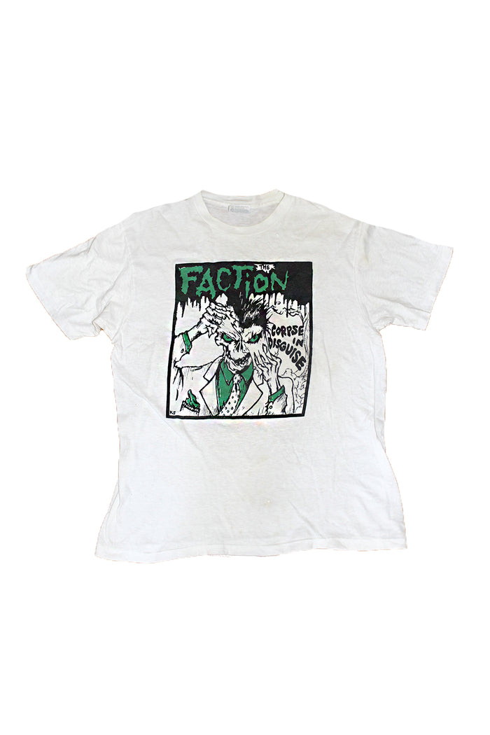 Vintage 80's The Faction - Corpse In Disguise T-Shirt - Steve Caballero